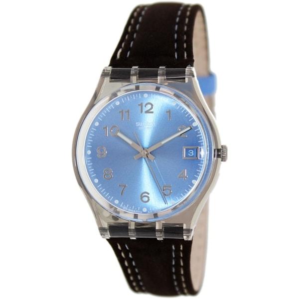 Swatch Women's Originals GM415 Black Cloth Quartz Watch