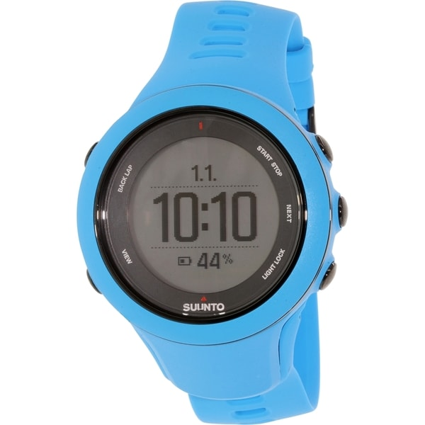 Suunto Men's Ambit 3 SS020679000 Blue Rubber Quartz Watch