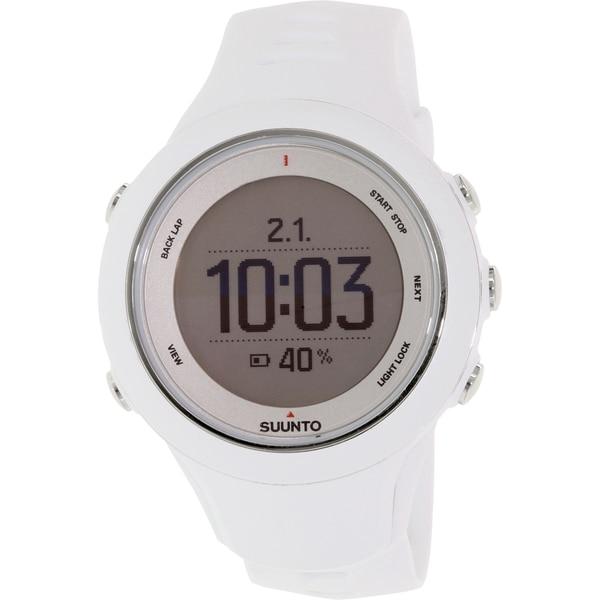 Suunto Men's Ambit 3 SS020683000 White Rubber Quartz Watch