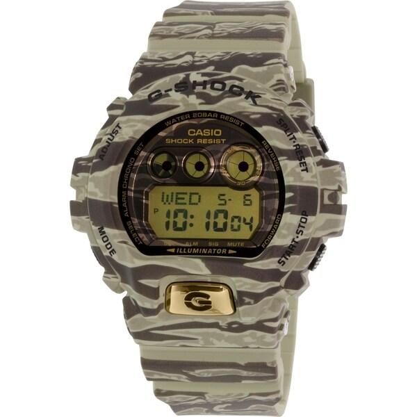 Casio Men's G-Shock GDX6900TC-5 Green Rubber Quartz Watch