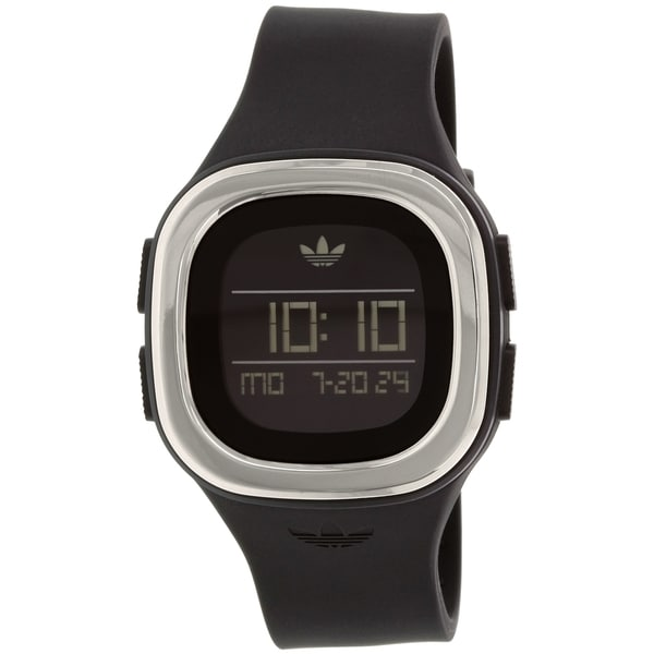 Adidas Men's Denver ADH3033 Black Silicone Quartz Watch