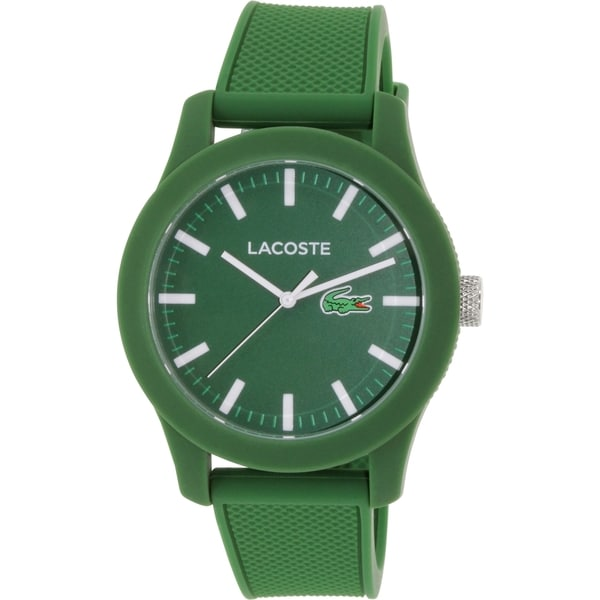 Lacoste Men's 2010763 Green Silicone Quartz Watch