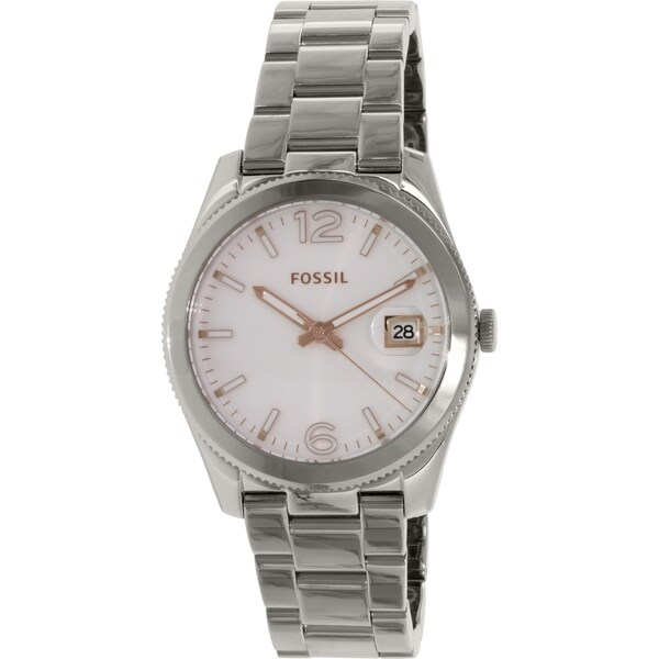 Fossil Men's Boyfriend ES3728 Silver Stainless-Steel Quartz Watch