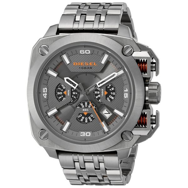 Diesel Men's DZ7344 Gunmetal Stainless-Steel Quartz Watch