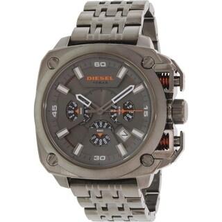 Diesel Men's DZ7344 Gunmetal Stainless-Steel Quartz Watch