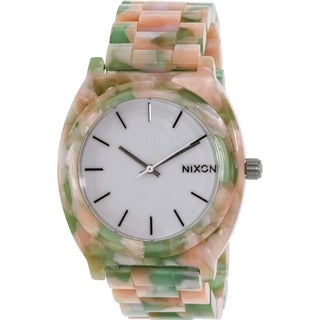 Nixon Women's Time Teller Acetate A3271539 Multi Plastic Quartz Watch