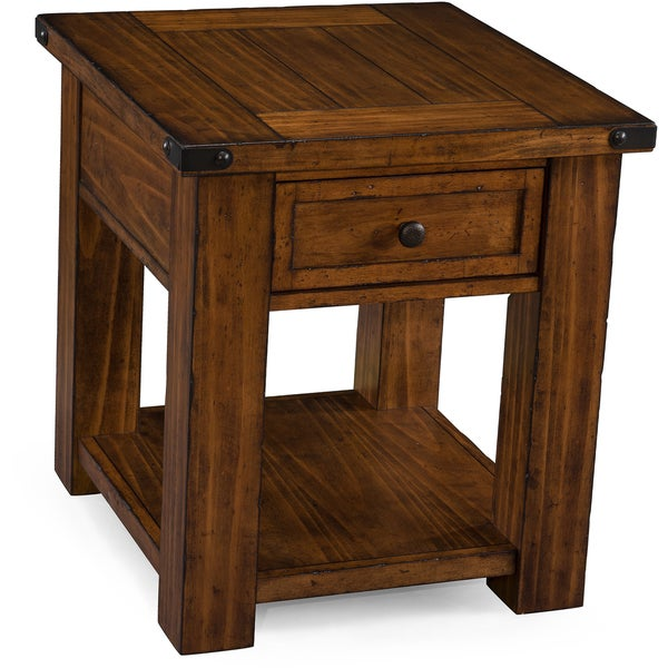 Magnussen T3050 Parker Lane Rectangular End Table