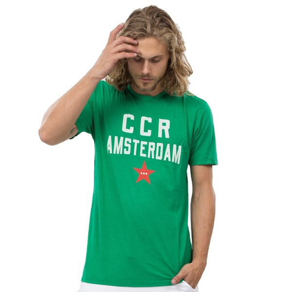 CCR Men's Amsterdam Crew T in Green