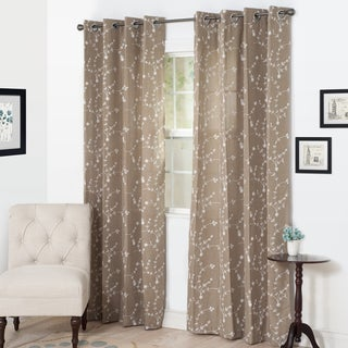 Windsor Home Ivy Embroidered Curtain Panel