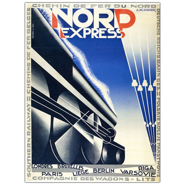 'Nord Express' Canvas Art