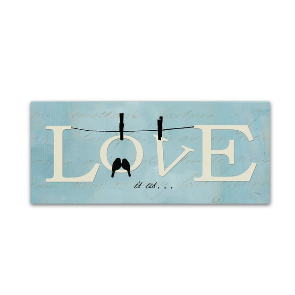 Pela Studio 'Well Said I' Canvas Art