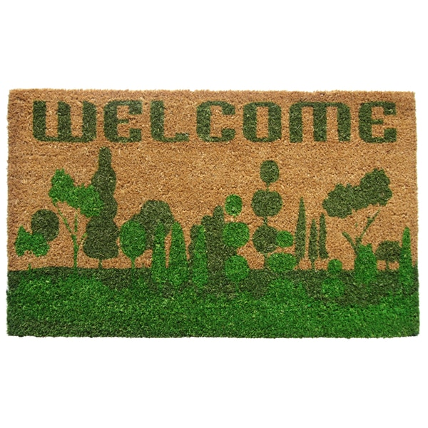 Coir Welcome Nature Doormat