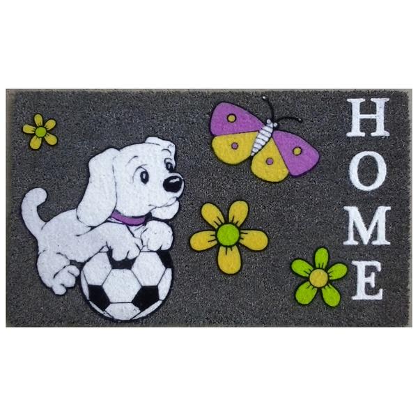 Coir Soccer Dog Doormat