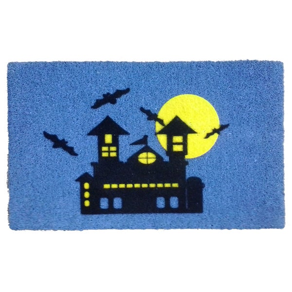 Coir Haunted House Doormat