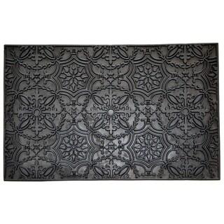 Wrought Iron Kaleidoscope Doormat