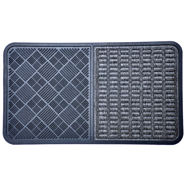 Rubber Grey Doormat
