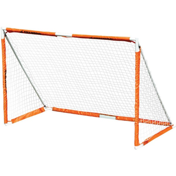 Champro 6 39 x 4 39 deluxe steel fold up soccer goal for Buro 600 6ft ups