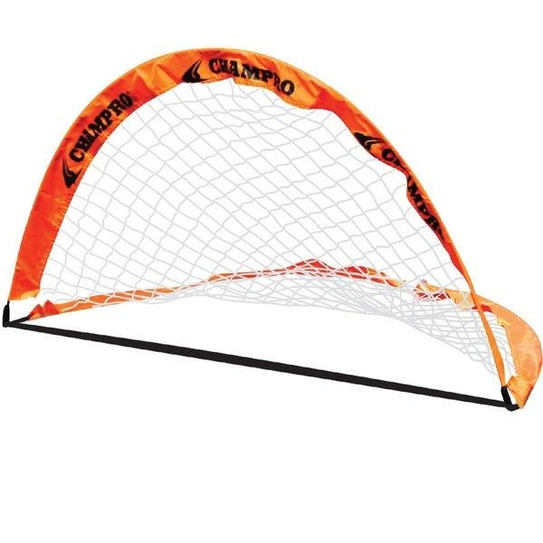 Champro 6' x 4' Fold-Up Soccer Goal Pair