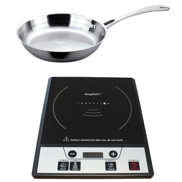 Berghoff Tronic Power Induction Stove with Stainless Steel Fry Pan
