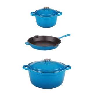 Berghoff Neo Cast 5-piece Blue Pan Set