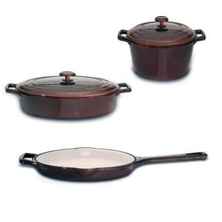 Berghoff Neo 5-piece Enamel Cast Iron Cookware Set