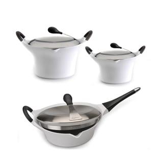 Berghoff Auriga 6-piece White Cookware Set