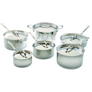 Berghoff Earthchef Acadian 12-piece Stainless Steel Cookware Set