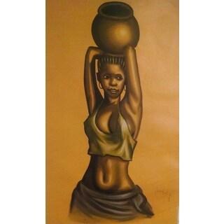African Girl Water Bearer (Ghana)