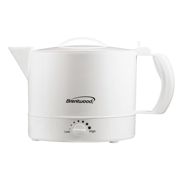 Brentwood KT-32W White 32oz Hot Pot