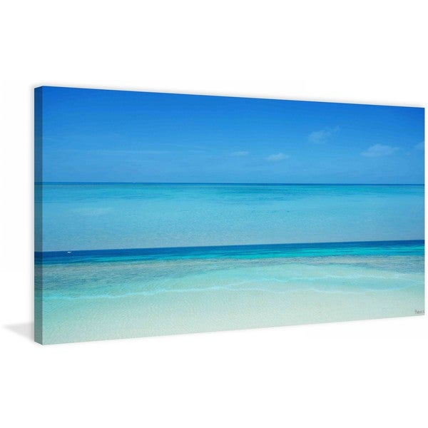 "Parvez Taj - ""Clear Blue"" Print on Canvas"