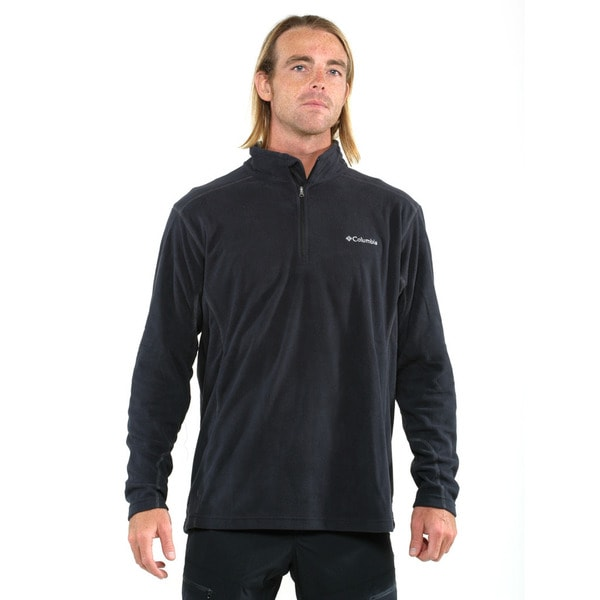 Columbia Men's Black Klamath Range II Half Zip