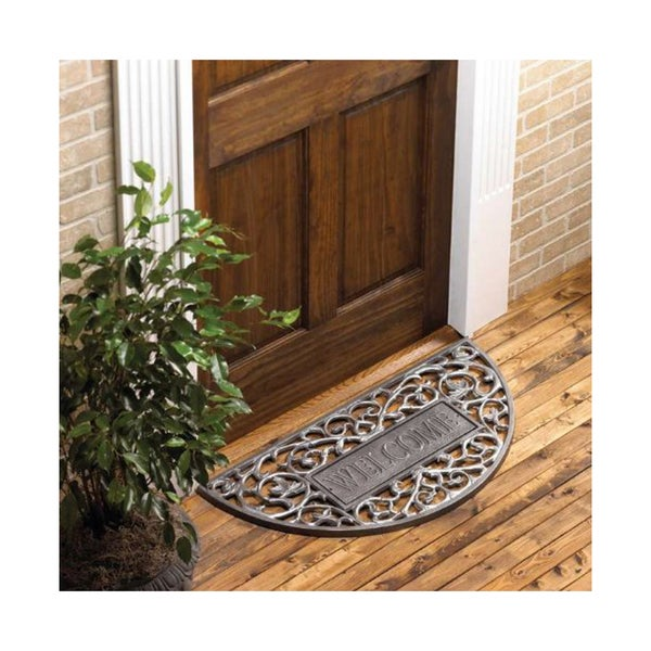 Whitehall Filigree Arch Aluminum Welcome Doormat