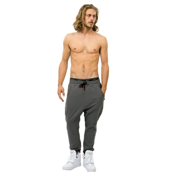 CCR Men's Drop Crotch Slim Fit Jogger Pants