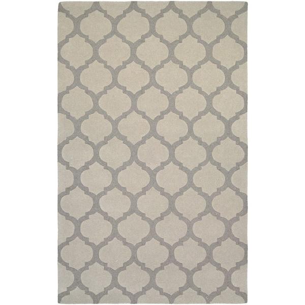 Couristan Super Indo/ Natural Gypsum Grey Area Rug (5'6 x 8')