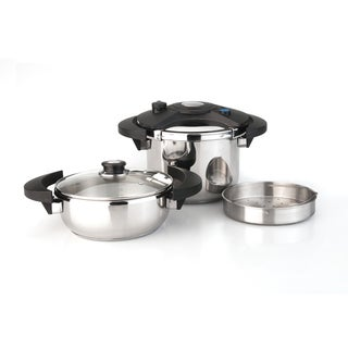 Berghoff Eclipse 5-piece Pressure Cooker Set
