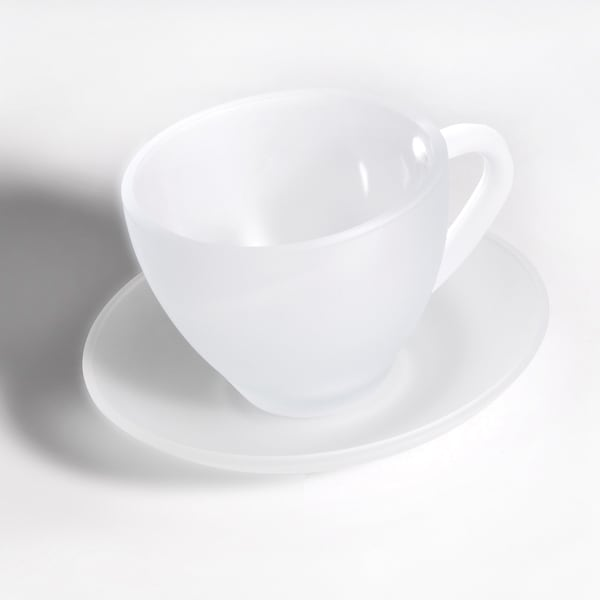 Berghoff Studio Frosted 8-piece Tea Cup and Saucer Set 16013471