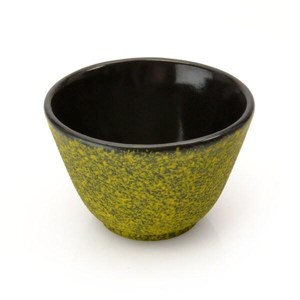 Berghoff Studio Cast Iron Small Tea-cup Set Lemon (Set of 2)