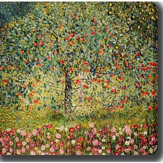 Gustav Klimt 'Apple Tree II' Oil on Canvas Art