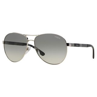 Vogue Women's VO3977S Plastic Pilot Sunglasses
