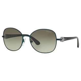 Vogue Women's VO3948SB Plastic Irregular Sunglasses