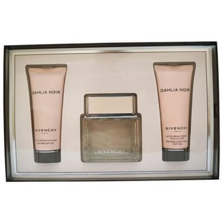 Dahlia Noir by Givenchy for Women 3-piece Gift Set