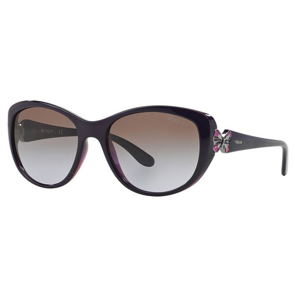 Vogue Women's VO2944S Plastic Cat Eye Sunglasses