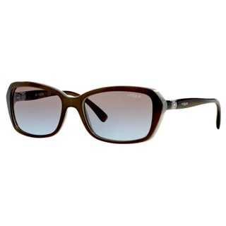 Vogue Women's VO2916SB Plastic Square Sunglasses