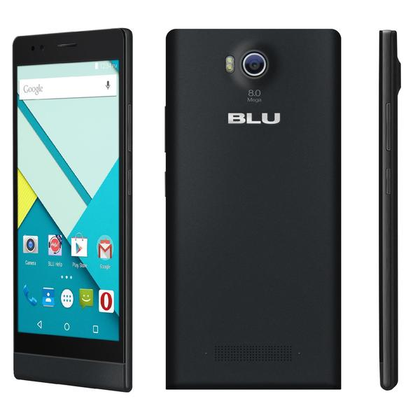BLU Life 8 XL L290u 8GB Unlocked 3G GSM Dual-SIM Octa-Core Android Cell Phone