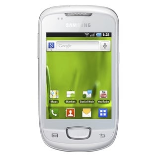 Samsung Galaxy Mini S5570 16GB Unlocked GSM Android Cell Phone - White