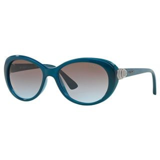 Vogue Women's VO2770S Plastic Cat Eye Sunglasses