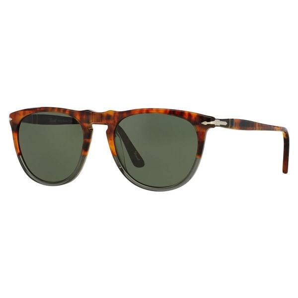Persol Men's PO3114S Plastic Pilot Sunglasses
