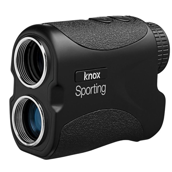 Knox Sporting Golf Laser Rangefinder with 6x Magnification + CR2 Battery (Black)