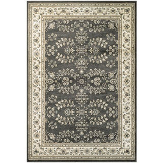 Couristan Konya Manyas Dark Beige/ Ivory Area Rug (3'11 x 5'6)