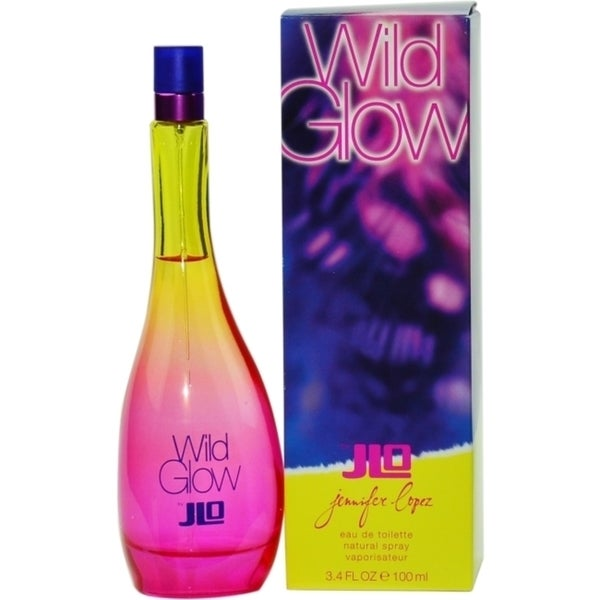 Wild Glow By Jennifer Lopez For Women 3.4 oz / 100 ml EDT Spray